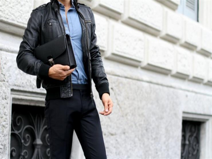 نصائح لتنسيق جاكيت الجلد الأسود مع الملابس لاطلالة شتوية جذابة 2018 801624484.jpg
