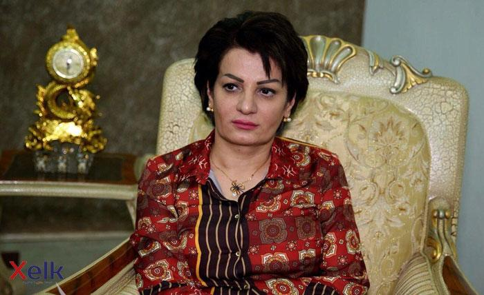 نائبة:استغرب خطاب رئيس الوزراء الذي لم يذكر فيه بطولات البيشمركة جنبا الى جنب القوات العراقية
