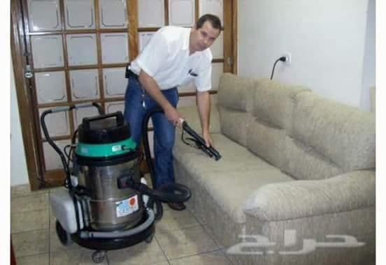 العفش والتركيب والتغليف أعمال الصيانه والنظافة وغسيل الخزانات ومكافحة
