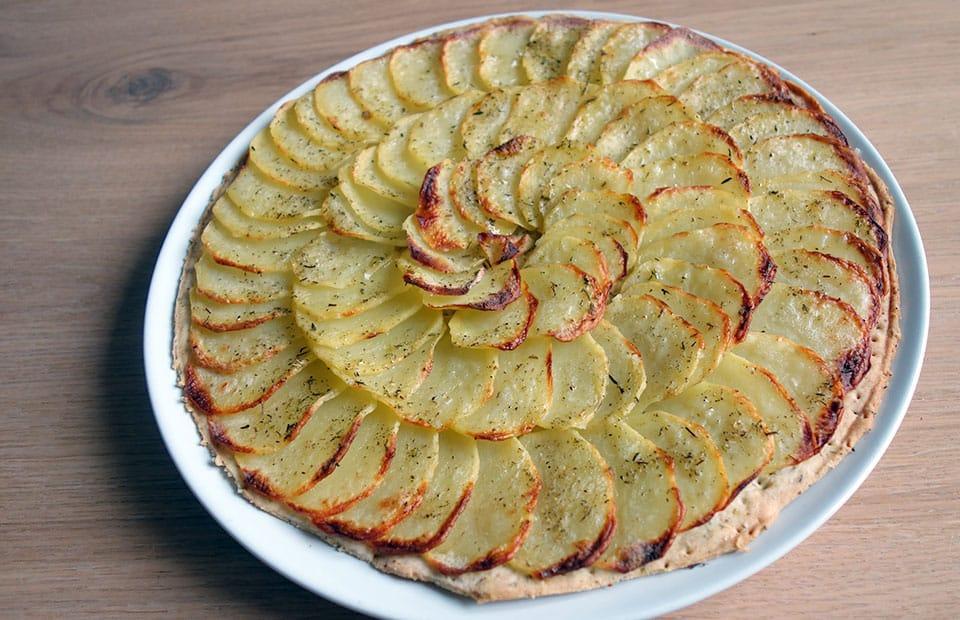 فطيرة البطاطس اللذيذة